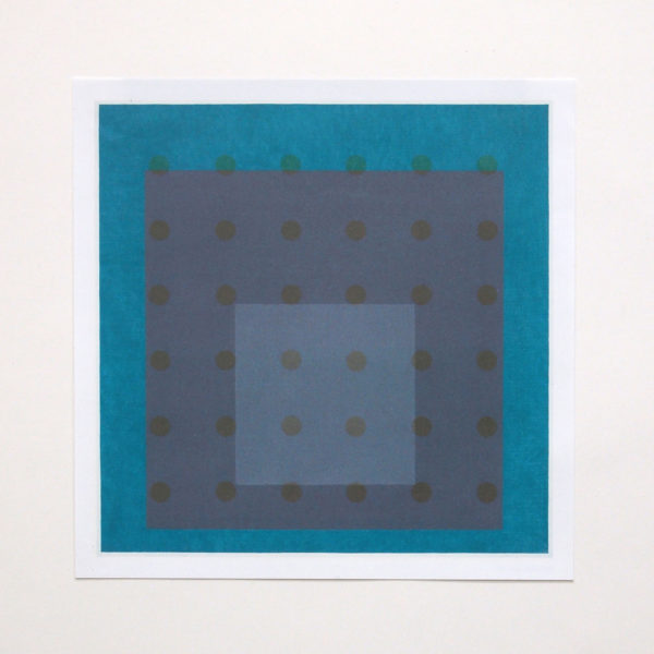 Heliograph IV  Lithographic reproduction exposed to sunlight | 2014
