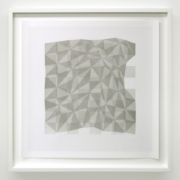 Projection # 559 x 59 cm | Indian ink on graph paper | 2012