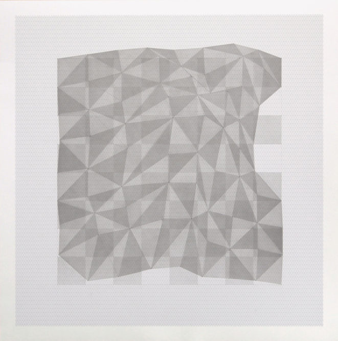 Projection # 559 x 59 cm | Indian ink on graph paper | 2012private collection