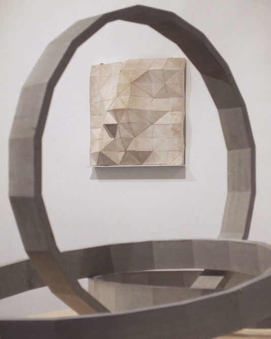 FORMWORK - George Charman & Tom Hackney (installation view) dalla Rosa Gallery, London