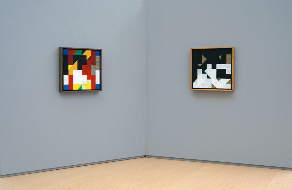 The Thought Game - Chess Paintings No. 61 bis & 64 bisKunsthalle Marcel Duchamp | The Forestay Museum of Art[photo © Stefan Banz courtesy of KMD]