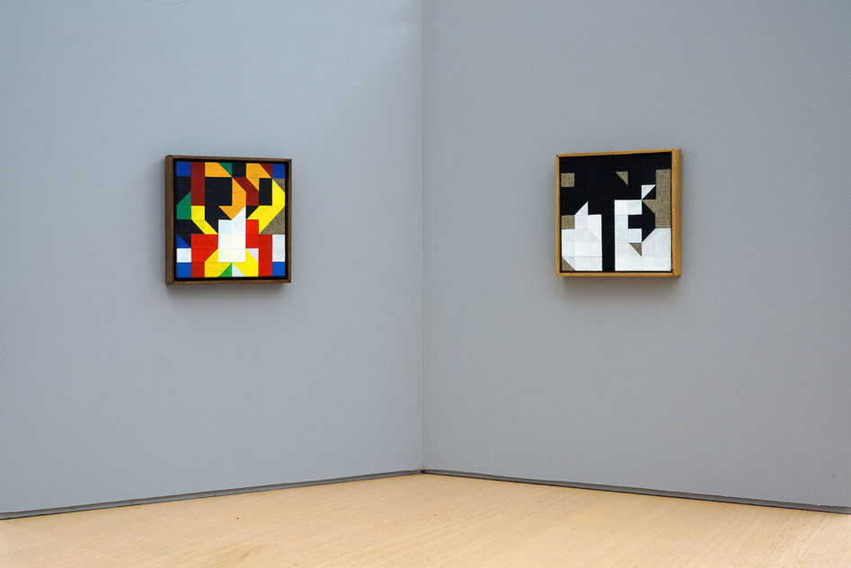 The Thought Game - Chess Paintings No. 54 bis & 87 bis Kunsthalle Marcel Duchamp | The Forestay Museum of Art[photo © Stefan Banz courtesy of KMD]